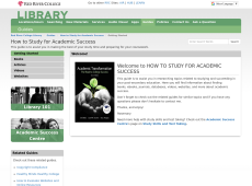 How to Study for Academic Success Guide