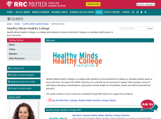 Healthy Minds Healthy College